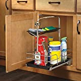 Rev-A-Shelf - 544-10C-1 - Under Sink Pull-Out Removable Chrome Caddy