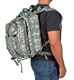 Tactical Backpack - Military Backpack - High Quality and Great Design - by Modern Warrior (Tactical Green Camo)