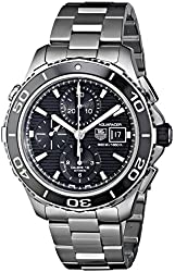 TAG Heuer Men's CAK2110.BA0833 Aqua Racer 500 Automatic Stainless Steel Bracelet Watch