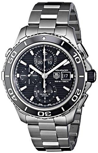 TAG Heuer Men's CAK2110.BA0833 Aqua Racer 500 Automatic Stainless Steel Bracelet Watch
