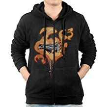 Men Solar Justice Destiny Hunter Hooded Sweatshirt Black