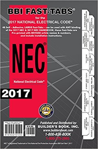 NFPA 70 2017: National Electrical Code (NEC) Spiralbound, Fast Tabs, Quick Card and Ugly's Electrical References, 2017 Editions, Package by NEC (Image #2)