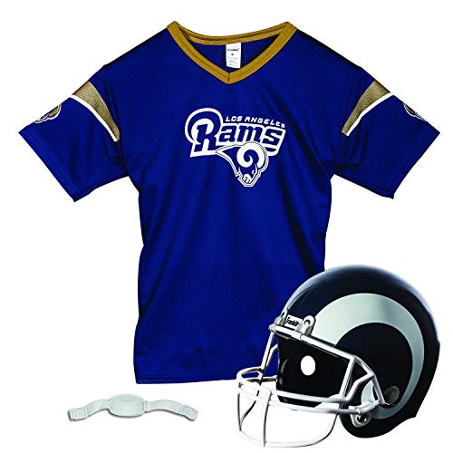 Franklin Sports L.A. Rams Kids Football Helmet and Jersey Set