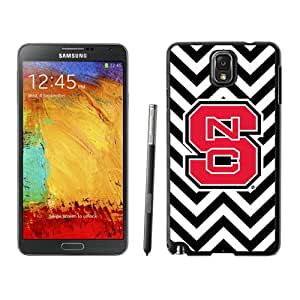 Fashionable And Unique Custom Designed With NCAA Atlantic Coast Conference ACC Footballl North Carolina State Wolfpack 2 Protective Cell Phone Hardshell Cover Case For Samsung Galaxy Note 3 N900A N900V N900P N900T Black
