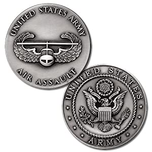 U.S. Army Air Assault Challenge Coin