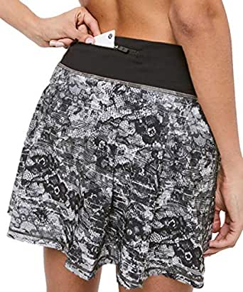 "Lululemon Pace Rival Skirt (Tall) 15"" (Masked Lace"