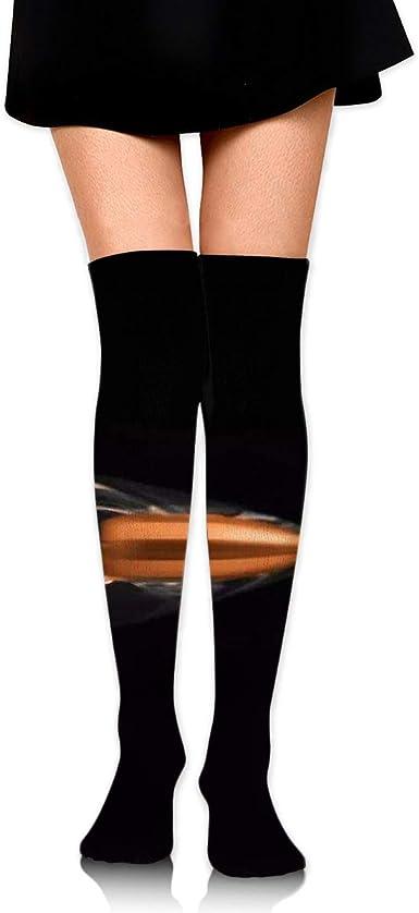 Women Tube Socks High Elasticity Girl Cotton Knee High Socks Uniform Diamond Jewelry 2