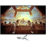 Last Supper - Poster by Salvador Dali (28 x 22)