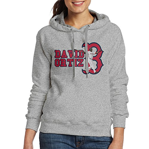 [NVVM Women's Big Papi Baseball Player Pullover Sweatshirts Jacket L] (Soccer Player Halloween Costume Boys)