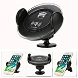 Mchoice Wireless Charger Car Vent Mount Bracket Universal Phone Holder for Iphone 8/Plus