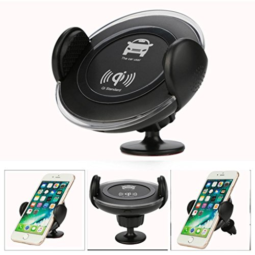 Mchoice Wireless Charger Car Vent Mount Bracket Universal Phone Holder for Iphone 8/Plus by MChoice (Image #6)
