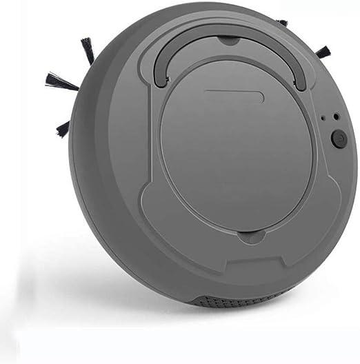 QYSHH Aspiradora Robot Súper Delgada, Robot Aspirador 3 en 1 ...