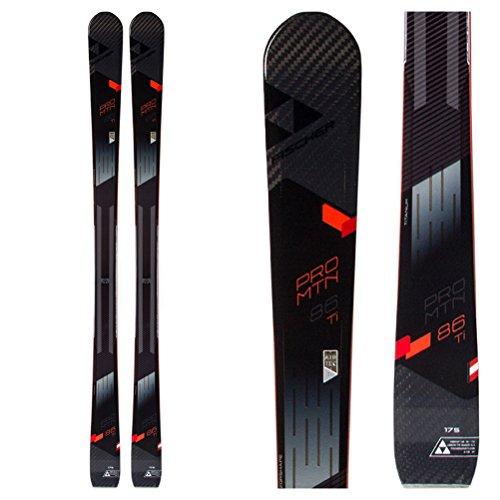 Fischer Pro MTN 86 TI Skis Mens Sz 175cm - Fischer Carbon Skis