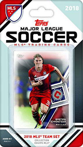 Mls Soccer Trading Cards - Chicago Fire 2018 Topps MLS Soccer Factory Sealed 6 Card Team Set with Bastian Schweinsteiger and Nemanja Nikolic plus