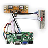 VSDISPLAY HDMI VGA DVI Audio LCD Driver Board For 17 19 M170EG01 LM190E02 1280x1024 4CCFL 40Pin LCD Panel
