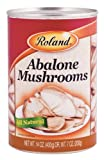 Roland Mushrooms, Abalone, 14 Ounce (Pack of 24)