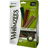 Whimzees Natural Grain Free Dental Dog Treats, Extra Small Stix, Bag 56