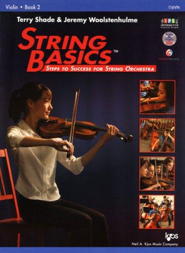 116VN - String Basics Book 2 - Violin from KJOS