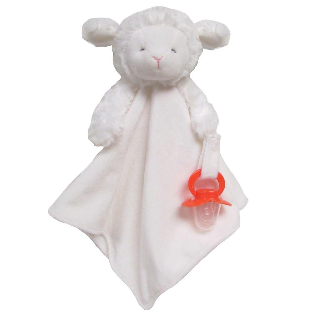 Amazon Com Carter S Plush Ivory Lamb 12 Baby Security Blanket