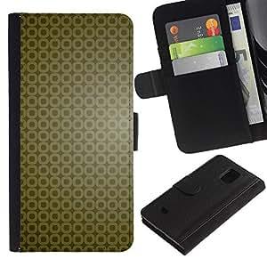 All Phone Most Case / Oferta Especial Cáscara Funda de cuero Monedero Cubierta de proteccion Caso / Wallet Case for Samsung Galaxy S5 Mini, SM-G800 // Simple Pattern 9