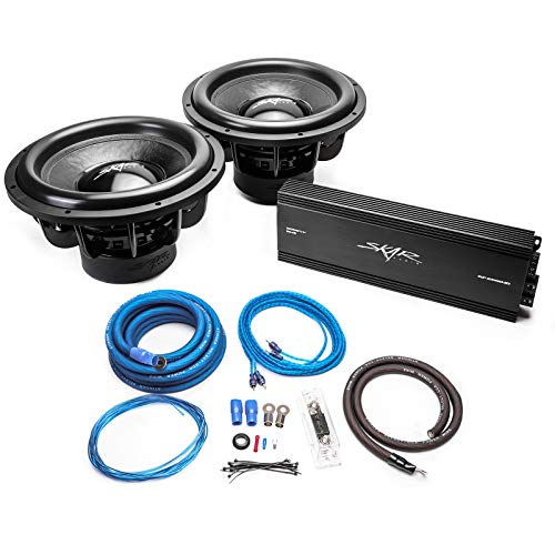 15 inch subwoofer amp package - 4