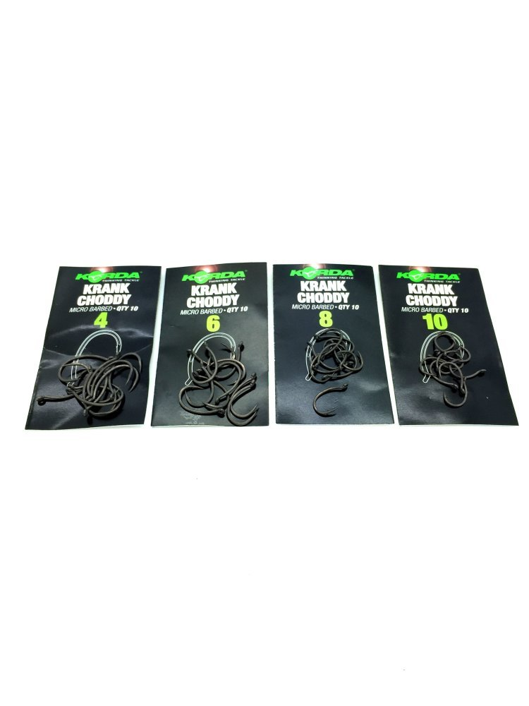 Korda Choddy Micro Barbed Hooks Various Sizes