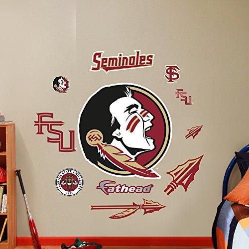 NCAA Florida State Seminoles Team Logo Assortment Fathead Wall Decal, Junior