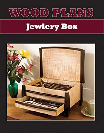 Amazon Com Jewelry Box Paper Woodworking Plan Home Kitchen