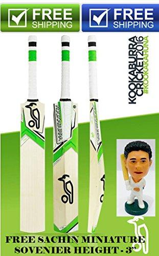Kookaburra Kahuna Prodigy Cricket Bat with Sachin Souvenir 3'' Full size Sh