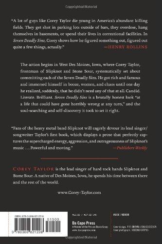 corey taylor seven deadly sins pdf free