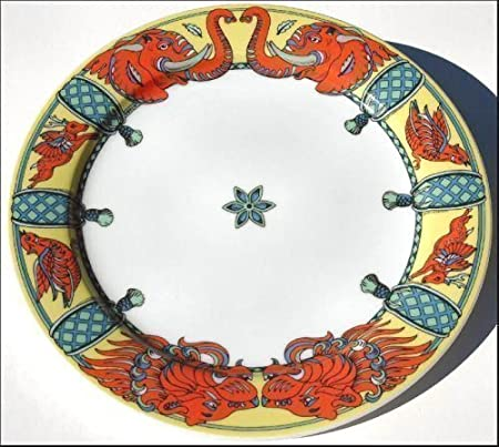 Leo (Color de fondo) BOPLA. Porcelana Plato Grande 27 cm de la ...