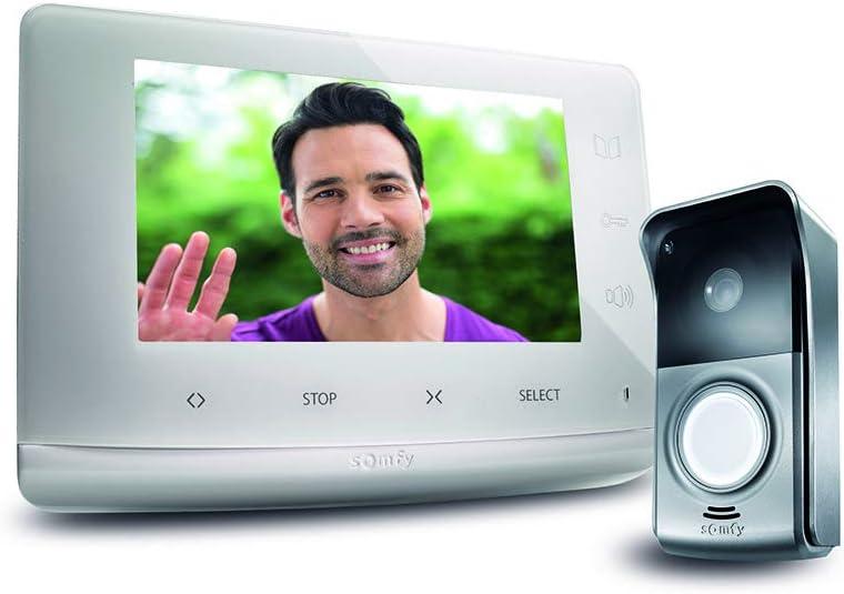 Somfy 2401547 - Visiophone V300, Interphone Vidéo écran 7 Pouces | Vision...