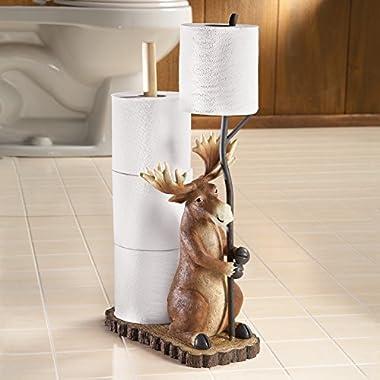 Woodland Moose Toliet Paper Holder