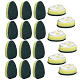 Scotch-Brite Dishwand Refills (18 Pack) 3M Sponge Brush Heavy Duty Dish Wand Replacement Heads Kitchen Home Cleaning