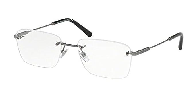 ba537ff043 Bvlgari Men s BV1097 Eyeglasses Matte Gunmetal 54mm at Amazon Men s ...