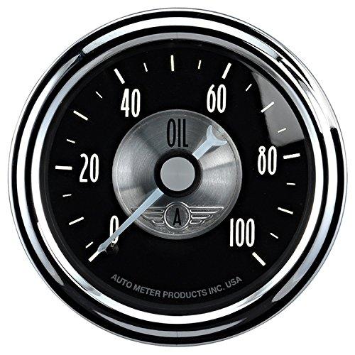 (Auto Meter 2022 Prestige Black 2-1/16