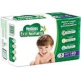 Huggies Eco Natural Pañales Ecológicos para Bebé, Etapa 5, 40 Piezas