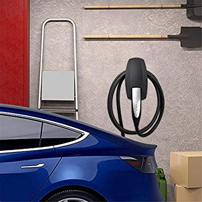 Prosaice Charging Cable Organizer, for Tesla Accessories Motors Wall Mount Connector Cable Organizer Bracket Charger Holder Adapter for Model S Model X Model 3 serviceable Refined