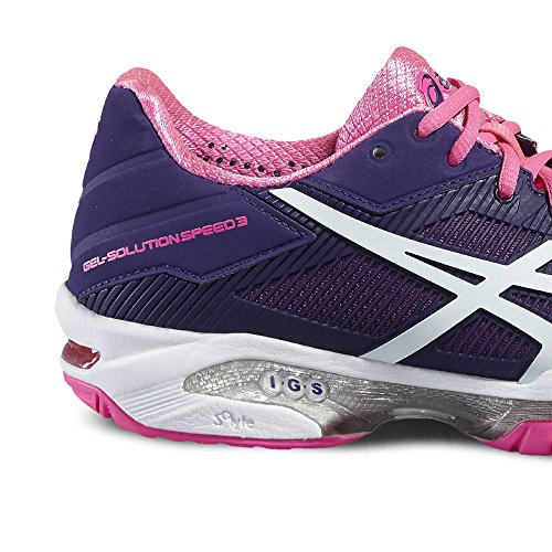 De Pink Tennis W 3 Speed Gel solution Chaussures Rose Femme Asics YqPvxaUwZY
