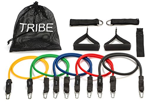 Tribe 11PC Premium Resistance Bands Set