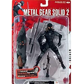 Amazon.com: Metal Gear Solid Ninja Action Figure: Toys & Games