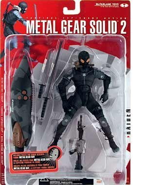 Metal Gear Solid 2 Sons of Liberty Raiden Action Figure ()