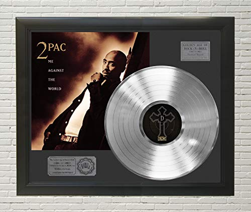 2Pac Me Against The World Framed Platinum LP Display C3