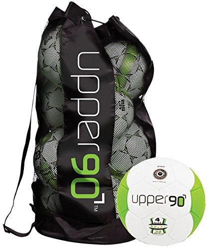 Gill 54104 Upper 90 Soccer Balls Bag, Size 4, set of 10 by Gill