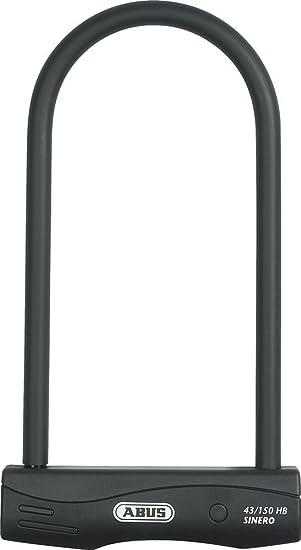 Abus Sinero 43 - Candado para Bicicletas (300 mm), Color Negro ...