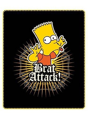 Bart Simpson–Manta Polar 120cm x 140cmhttps://amzn.to/2WdMKhl