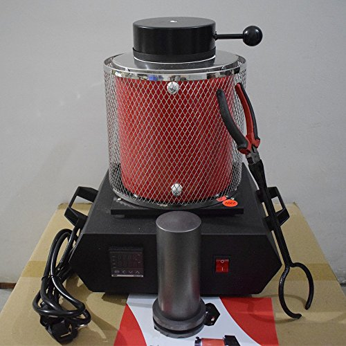 Machine Crucible (Canty Wang Automatic Digital 2KG Kilo Gold Melting Furnace / Crucible Furnace Melting Machine / Gold Digital Melting Machine / Furnace Jewellery Tool / Gold Melter)