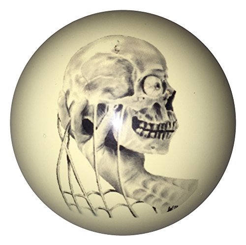 D&L Billiards  Skull in Hand Designer Cue Ball for Pool Players Custom by