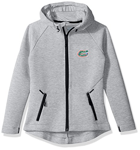 Levelwear LEY9R NCAA Florida Gators Adult Women Motion Insignia Full Zip Hooded Jacket, Medium, Heather ()
