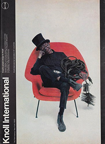 Knoll Associates #70 Eero Saarinen Chair MAGAZINE AD 1974 NY chimneysweep